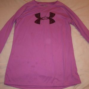 Girls large Under Armour long sleeve